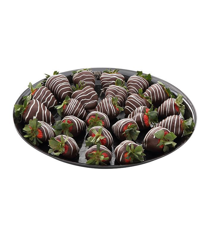 Dipped Strawberries Tray