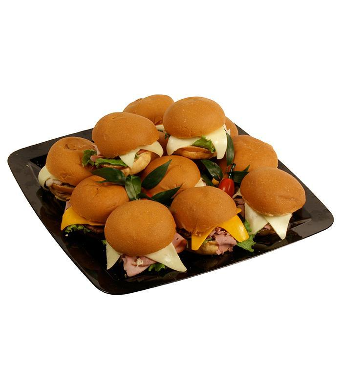 Dinner Roll Sandwich Tray